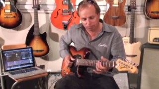 Godin Session Custom TriplePlay guitars from 440 Distribution.