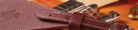DSL Straps - the world's best guitar straps, available in the UK from 440 Distribution.